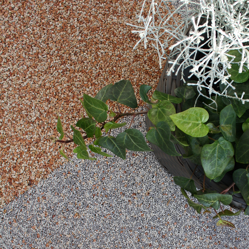Terrassenbeschichtung Steinteppich rutschfest Außen
