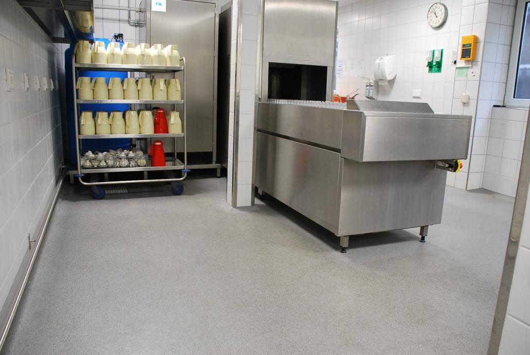 Bodenbeschichtung Gewerbliche Küche