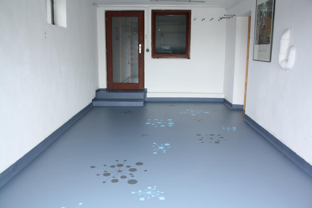 Garagenboden Beschichtung