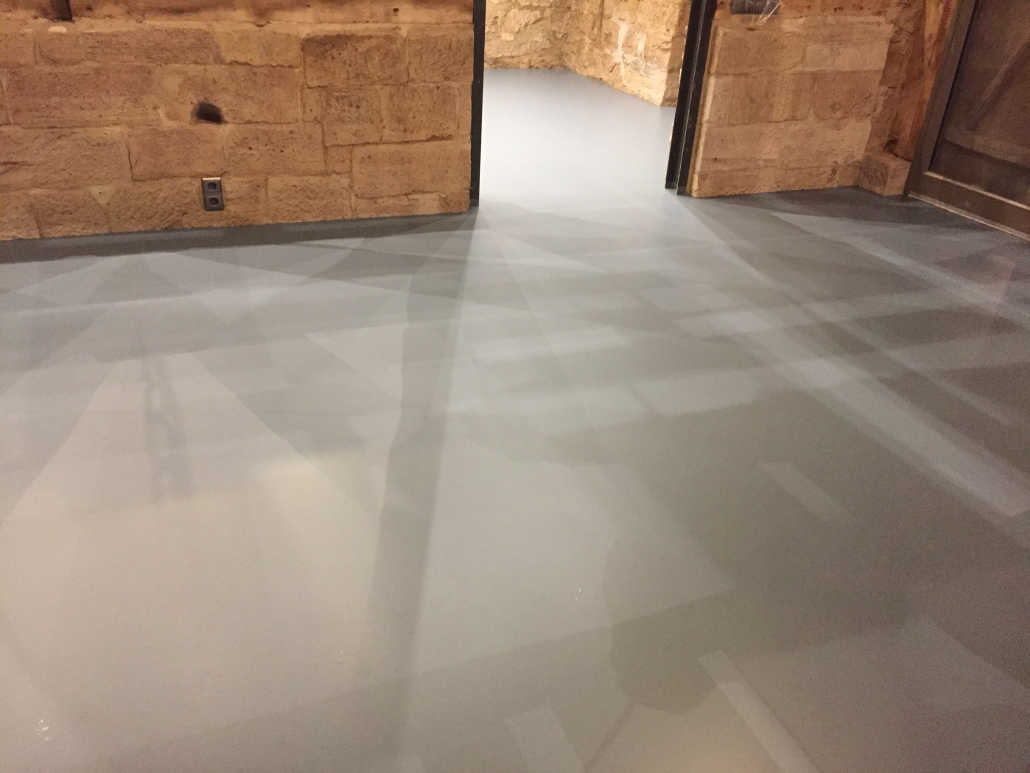 Bodenbeschichtung Wohnraum